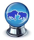 Stock Market Predictions — Stock Photo
