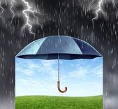 Försäkringsskyddet — Stockfoto