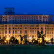 Bucharest, Parliament Palace — Stock Photo