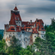 Bran Castle HDR, landmark in Romania - Stock Photo