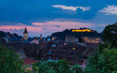 Brasov, medieval downtown. — Stock Photo