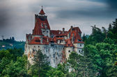 Bran Castle HDR, landmark in Romania — Foto Stock