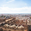 View from the Cathedral of Seville. Spain. - 图库照片