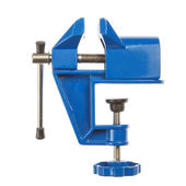 Hand grip- vise small, closeup, on a white background. — Stock Photo
