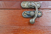 Lock of the old decorative casket — Foto de Stock