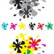 Royalty-Free Stock Vector Image: Set blots
