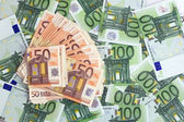 Euros banknotes — Stock Photo