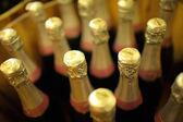 Bottiglia in grotta da vicino — Foto Stock