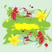 Lilies2 — Stock Vector