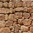 Old stone wall, seamless pattern — Stock Photo