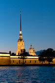 Peter and Paul fortress vertical view — Stock Photo