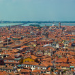 Venice roofs from high point of view — Stock Photo
