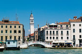 Venice cityscape view from water — Stock Photo