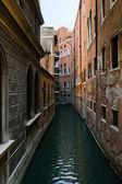 Venice narrow waterway — Stock Photo