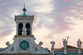 Udine, church of San Giacomo — Stock Photo