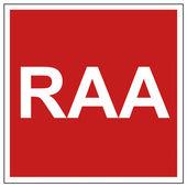Avfyra säkerhet tecken raa varningstecken — Stockvektor