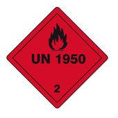 Hazardous substances signs icon flammable skull radioactive hazard fire — Stock Vector