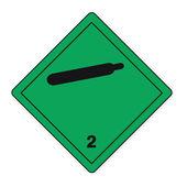Hazardous substances signs icon flammable skull radioactive hazard gas — Stock Vector