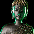 Buddha statue with glow — Stock Photo #11610482