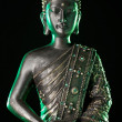 Buddha statue with glow — Stock Photo
