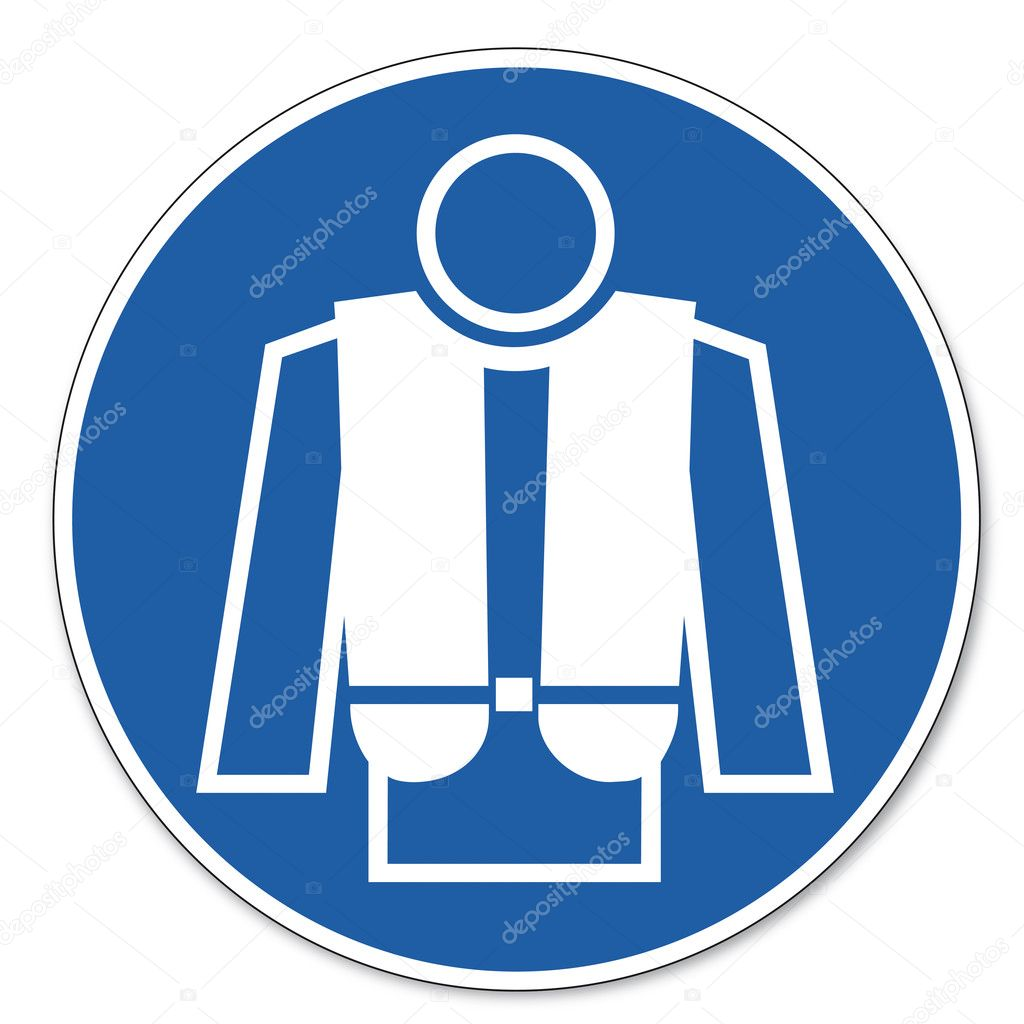 Commanded Sign Safety Sign Pictogram Occupational Safety