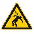 安全標識の警告トライアングル サイン ベクトル絵文字アイコン危険高電圧雷 — ストックベクタ