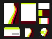 Modèle vectoriel pour la conception de l'entreprise — Photo