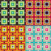 Mosaic seamless pattern — Stock Photo