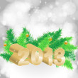 Royalty-Free Stock Photo: 2013 christmas background