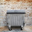 Garbage container — Stockfoto