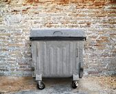 Garbage container — Foto Stock