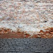 Old brick wall — Foto de stock #11275582