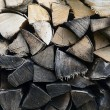 Detail of firewood stack — Stock Photo #11971684