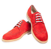 Luxury red shoes — Stock Photo