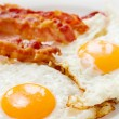 Eggs and bacon - Stok fotoğraf
