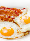 Eggs and bacon — Stock Photo