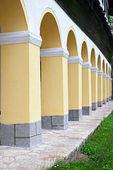 Range of columns — Stock Photo