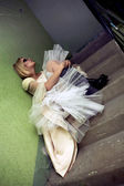 Gothik bride — Stock Photo