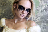 Gothic bride — Stock Photo