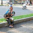 Beggar in Saigon — Stock Photo