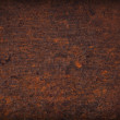 Rust plate background — Stock Photo