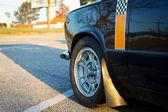Classic Race Car Detail — Stock Photo