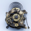 Photo: Wall clock mechanism