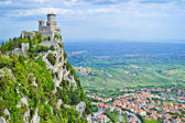 Fortress at mountain — Stock Photo