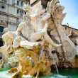 Fountain of four rivers — Stock Photo #10956253