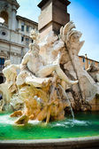 Fountain of four rivers — Stock Photo