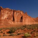 Balanced Rock Arches NP — Stock Photo