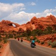 Vacation Travel Arches NP — Stock Photo #10749700