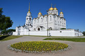 Uspensky Cathedral in Vladimir. Golden Ring of Russia — Stock Photo