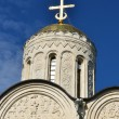 Dmitrievsky cathedral in Vladimir, 1194-1197 years. Golden Ring of Russia. — Stock Photo